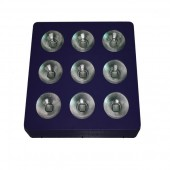 9*45W LED plant grow light